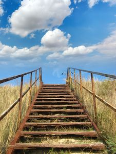 Free Stairway To Heaven Stock Photo - 21383050