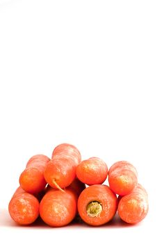Group Of Carrots Stock Photo