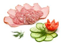 Free Salami, Ham And Vegetables Stock Photo - 21384100