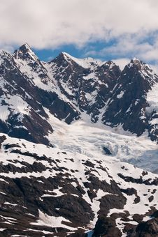 Free Closeup Of Mountain Peaks Stock Photography - 21384582
