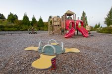 Free Neighborhood Public Park Children S Playground Stock Photography - 21384672
