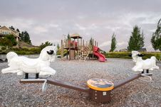 Free Neighborhood Public Park Children S Playground Stock Photo - 21384680