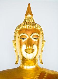 Free Head Of Buddha At Thai Royalty Free Stock Photography - 21384857