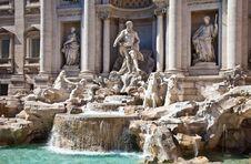 Free Fontana Di Trevi - Rome, Italy Stock Image - 21385041