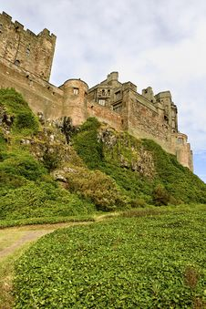 Free Bamburgh Castle Royalty Free Stock Image - 21385666