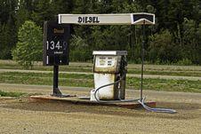 Free Alaska Highway Stock Image - 21385751