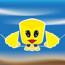 Free Sad Bird Stock Image - 21386151