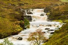 Free Mountain Stream In Spate Stock Photography - 21389412