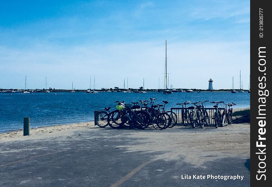 Marthas` Vineyard best choice of wheels.. the bicycle..