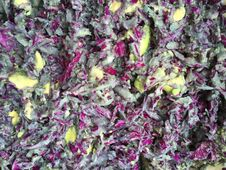 Free Purple Cabbage And Avocado Salad In Lihue On Kauai Island, Hawaii.. Royalty Free Stock Photos - 213853708
