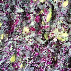 Free Purple Cabbage And Avocado Salad In Lihue On Kauai Island, Hawaii.. Royalty Free Stock Photos - 213853728