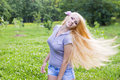 Free Sexy Young Female Smiling In A Park Royalty Free Stock Image - 21393126