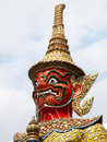 Free Native Thai Style Giant Statues Royalty Free Stock Images - 21396249