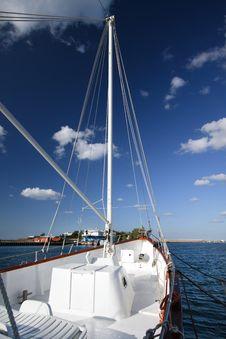 Free Sailing Ship. Royalty Free Stock Photography - 21390067