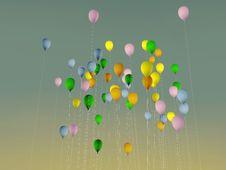 Free Balloons Royalty Free Stock Photos - 21391508
