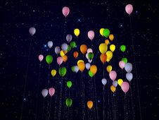 Free Balloons Royalty Free Stock Photography - 21391557