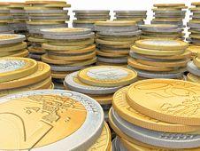 Free Euro Coins Stock Photos - 21391893
