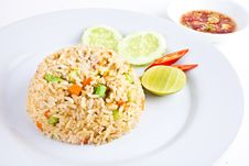 Free Vegetable Fried Rice1 Stock Photos - 21392593