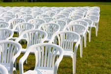 Free Chairs Royalty Free Stock Photography - 21393837
