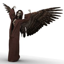 Free Angel Of Death Stock Photography - 21395842