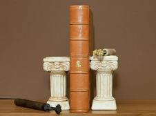Free Old Antique Book Stock Photo - 21397840