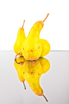 Free Three Pears Stock Photo - 21397870