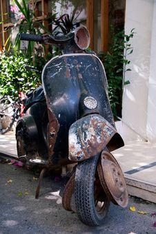 Free Very Old Bike Stock Photo - 21398270