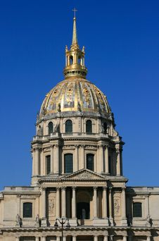 Church Of Hotel Des Invalides, Paris, France Stock Photography