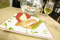 Free Fish With Asparagus Stock Photos - 2141023