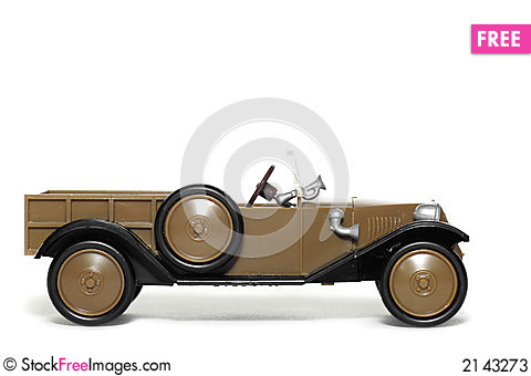 Free Old Toy Car Tatra 11 Normandie Stock Photos - 2143273