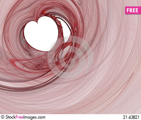 Free Red Heart Stock Image - 2143821