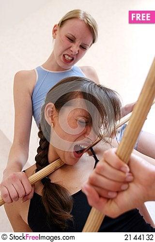 Free Women Fighting Stock Photography - 2144132