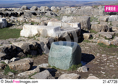 Free Green Stone And Ruins Royalty Free Stock Photos - 2147728