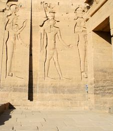 Free Philae Temple - Aswan - Egypt Royalty Free Stock Image - 2140066