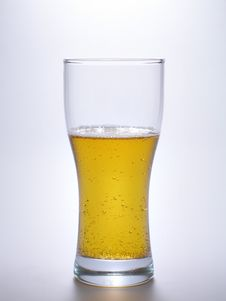Free Beer Over Light Blue Stock Photo - 2141150