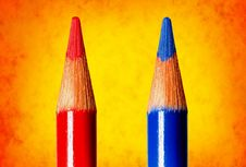 Free Coloring Pencils Royalty Free Stock Photos - 2141898