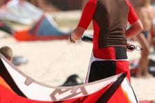 Free Kitesurfer Stock Image - 2142531