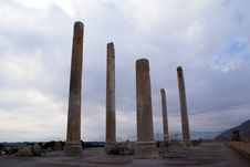 Free Columns In Persepolis Stock Images - 2143014