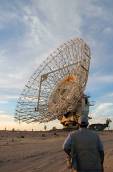 Free Satalite Dish In Kuwait Stock Photo - 2143430