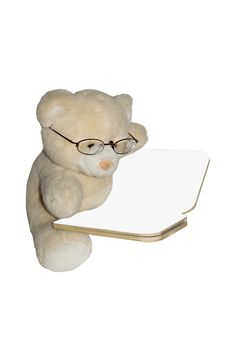 Free Teddybear Reading Book Royalty Free Stock Images - 2143659
