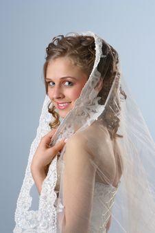 Free Smiling Bride 3 Stock Image - 2143701