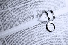 Free Rings Royalty Free Stock Images - 2143869