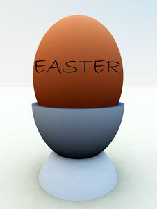 Egg In Eggcup 4 Royalty Free Stock Photos