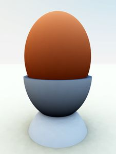 Free Egg In Eggcup Royalty Free Stock Images - 2145559