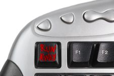 Free Runaway Button Stock Image - 2146461