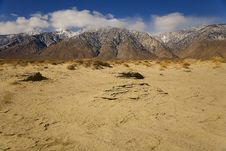 Free San Dune Near Death Valley Royalty Free Stock Image - 2146556