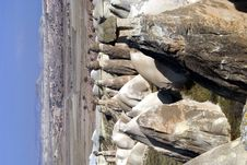 Free Rock Heads Near Chavushin Stock Photos - 2148443