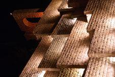Free Stone Wall In Shiraz At Night Royalty Free Stock Image - 2148606