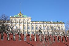 Free Kremlin Palace Royalty Free Stock Photography - 2149847