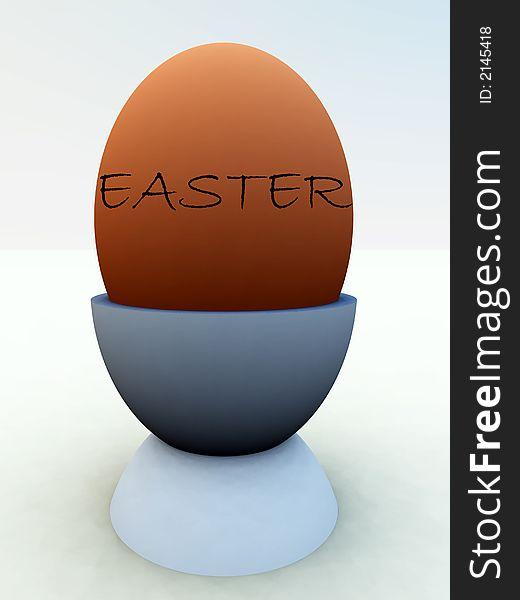Egg In Eggcup 4